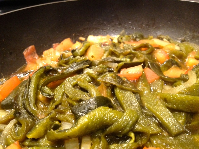 Poblano Pepper Strips