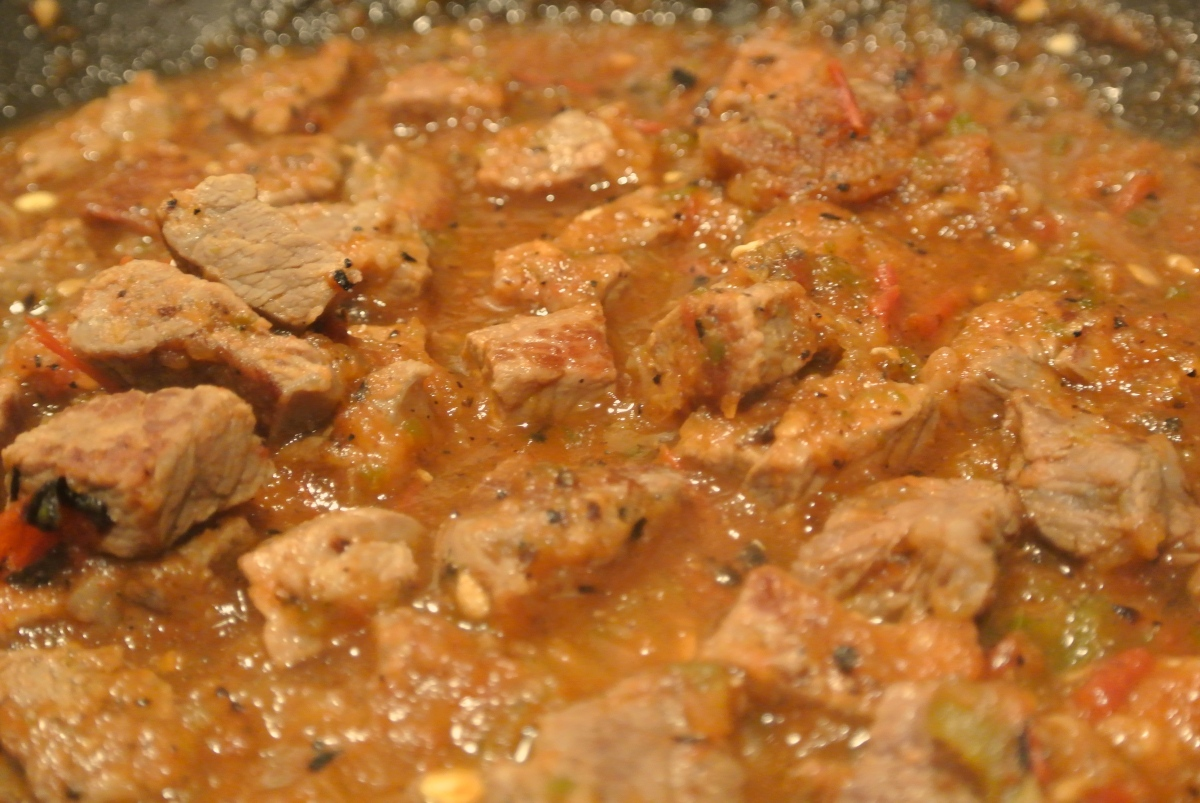 Carne con Chile - Authentic Mexican Chile con Carne.