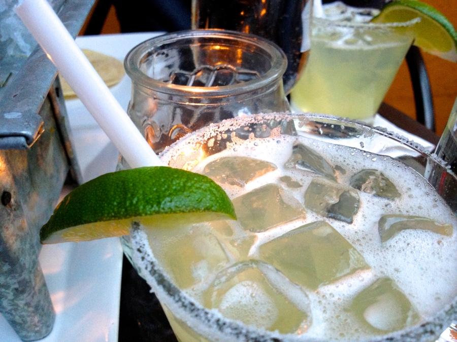 Lime Margarita on the Rocks.