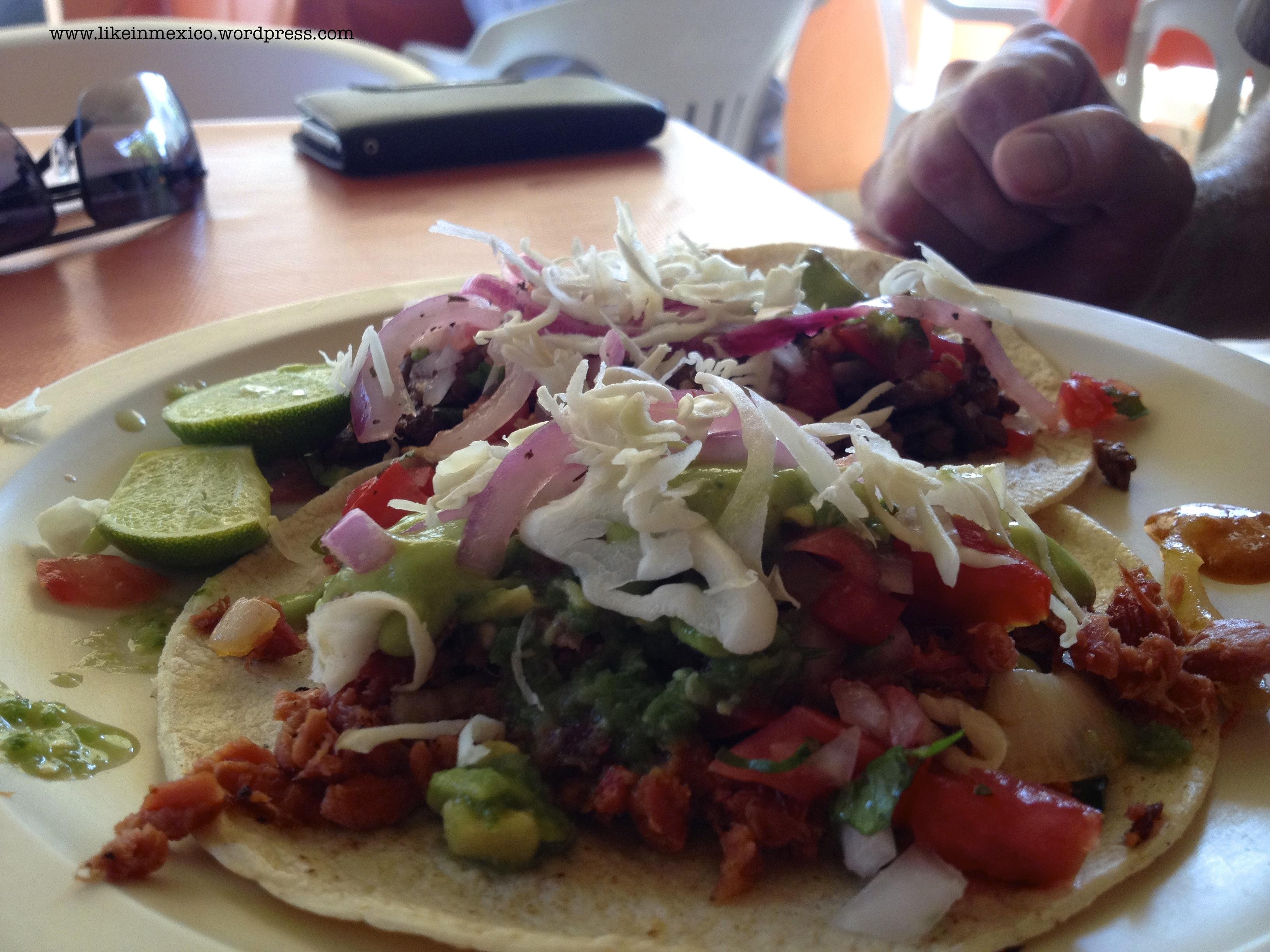Los cabos 2 baja style tacos recipe likeinmexico for Marlin fish recipes