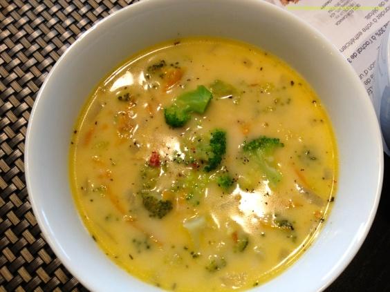 Voila! Creamy Broccoli soup