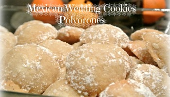 Mexican Wedding Cookies Polvorones De Nuez