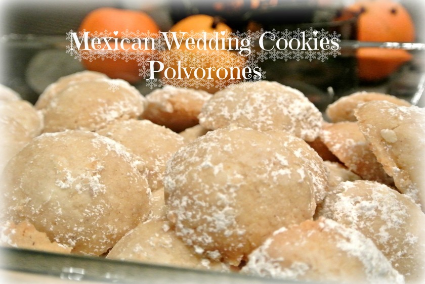 Mexican Weeding Cookies - Polvorones