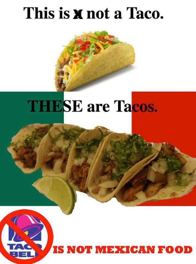 Mexican Tacos vs TexMex Tacos