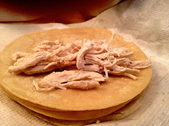 Tortilla with Chicken