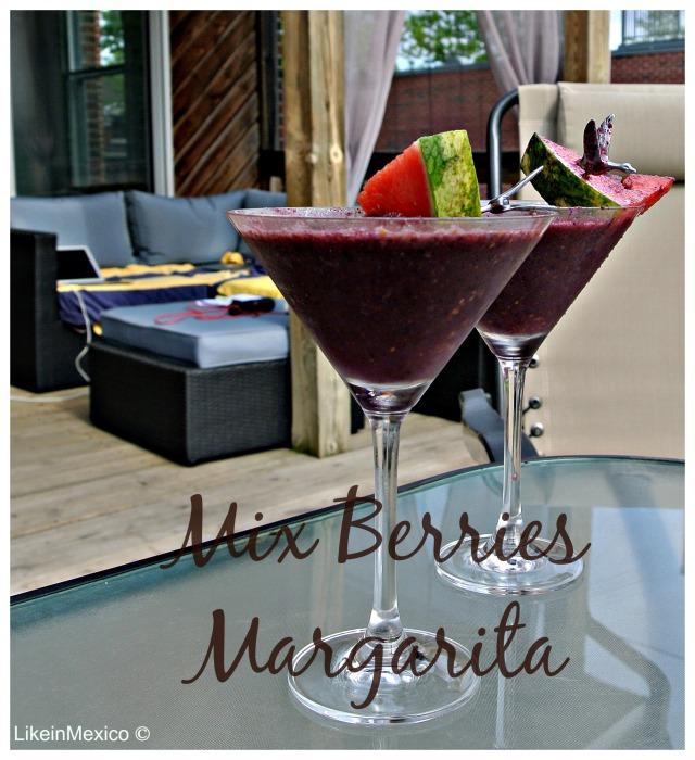 mix berries margarita via: @likeinmexico