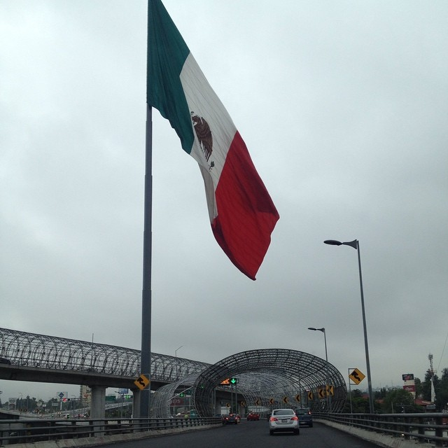 Mexican Flag (Mexico City)