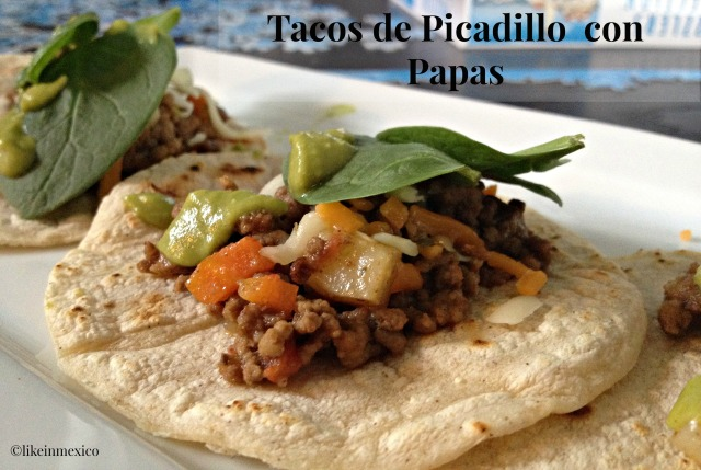 Mexican Picadillo con Papas Recipe