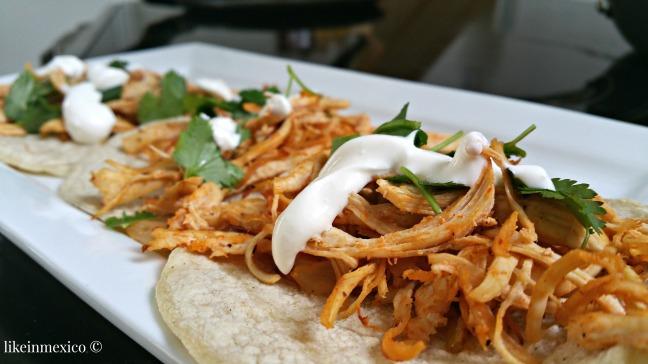 TEXMEX Chicken Tacos | Tacos de Pollo TexMex